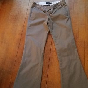 Banana Republic Khaki Dress Pants - 2 Petite